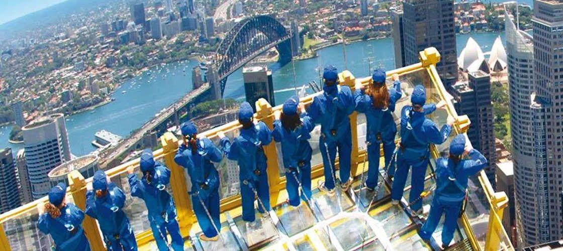 まずは街の全体像を把握!シドニータワー展望台&スカイウォーク
