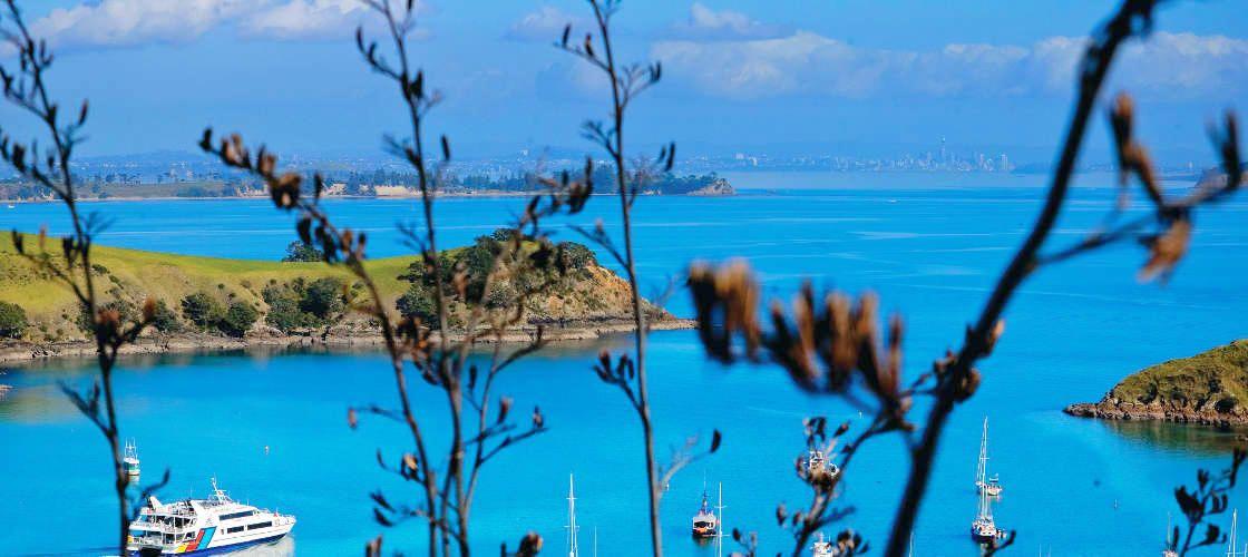 オークランドからフェリーでワインリゾートへ!「ワイヘキ島」観光