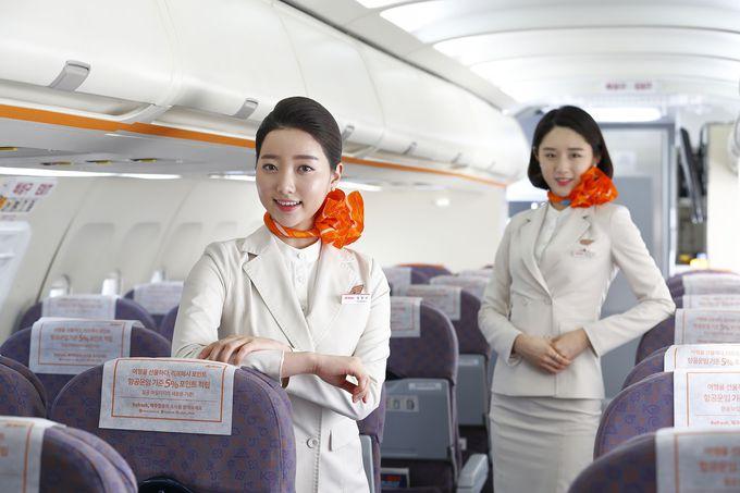 「チェジュ航空」は機内のエンタメが充実!