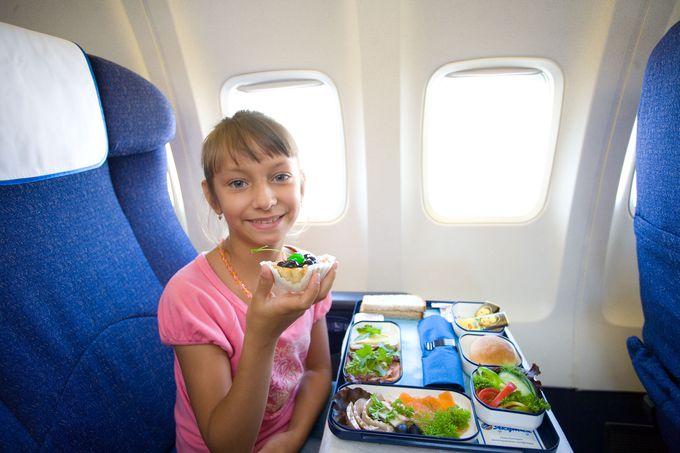 ヤクーツク航空の機内食は?