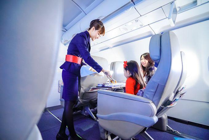 マカオ航空のビジネスクラス特典は?