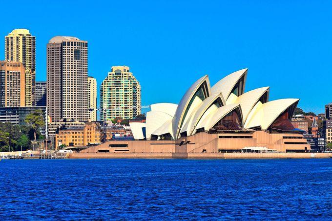 シドニーまでの飛行時間