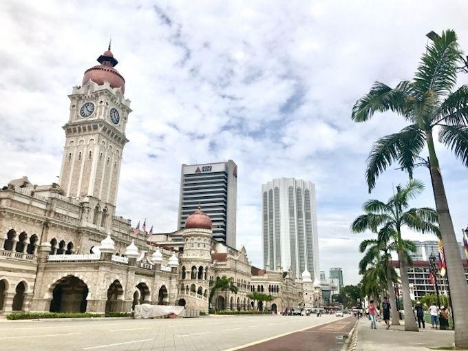 中部国際空港からマレーシアまでの飛行時間