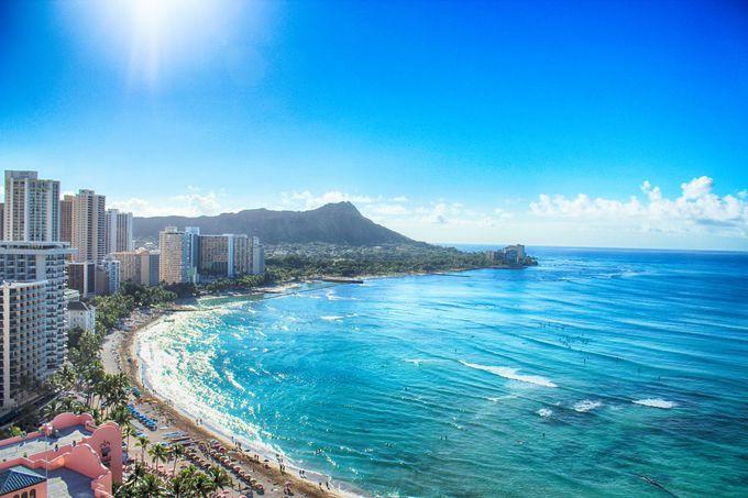 関空からハワイまでの飛行時間
