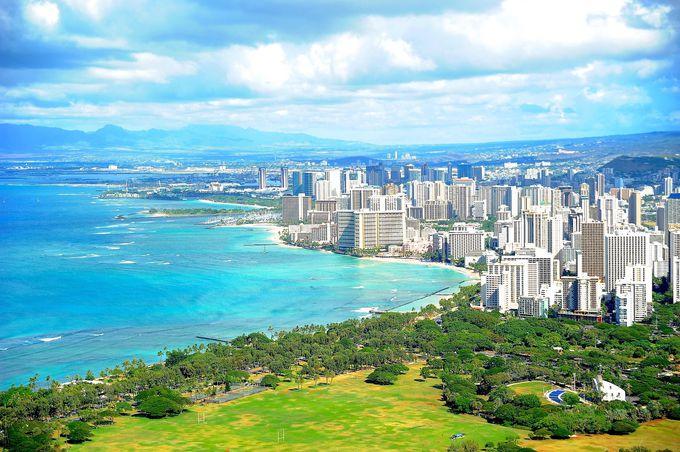 ハワイ行きの直行便はある?