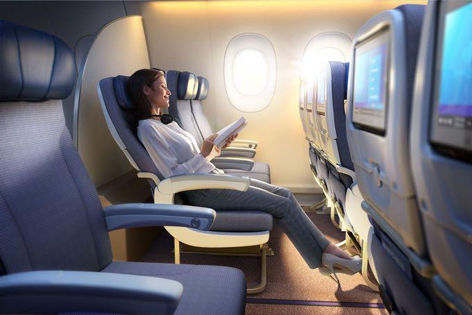 マレーシア航空 エコノミークラスの座席と機内食