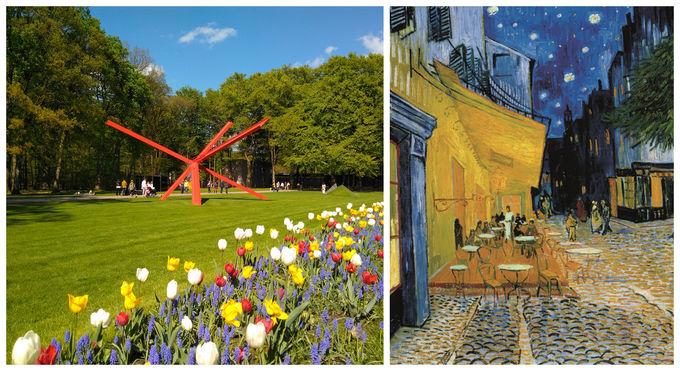 4日目午後〜7日目:ロッテルダムから日帰り観光!芸術と自然が満喫できるスポットを周遊
