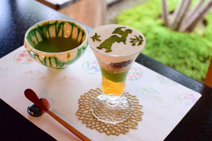 【郡上】オリジナルアクセサリー作りと伝統に触れる和風パフェ