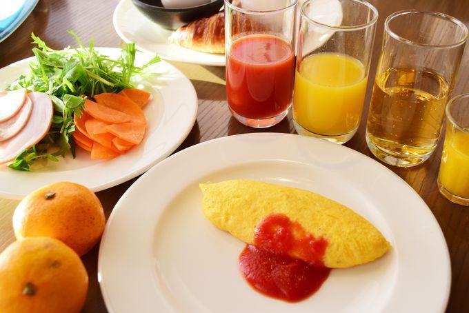 朝食が「無料」!ゴールド資格に自動ランクアップ