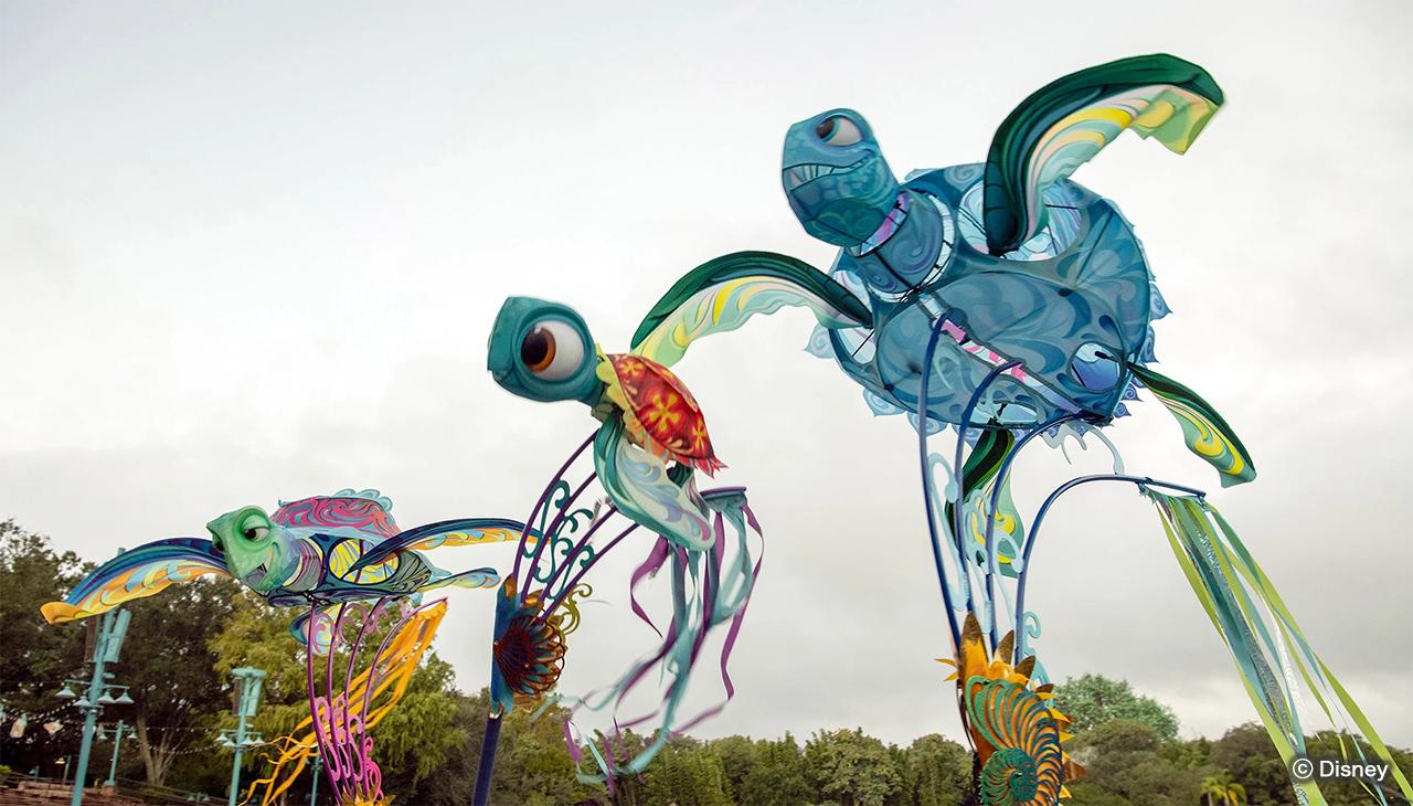 凧が舞う!ディズニー・アニマルキングダムの新ショー