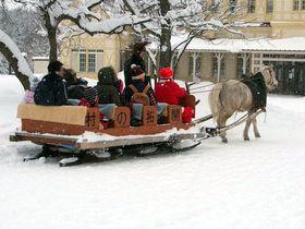 さっぽろ雪まつりに合わせて『北海道開拓の村』へ!馬そりに乗ってレトロな町並みを走り抜けよう!