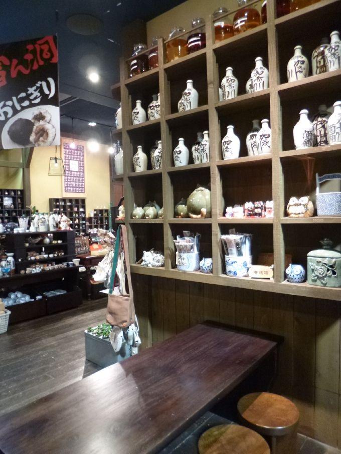 日本一の品揃え?800種類の酒器の眺めは、酒好きならずともワクワク!