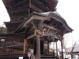 ブラタモリで注目!「会津さざえ堂」はダビンチも創れなかった不思議な二重螺旋迷宮?