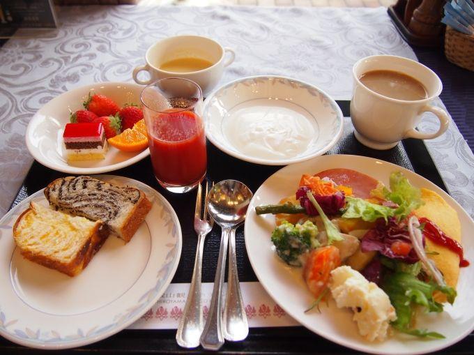 朝食のおいしいレストランランキング2013で、全国5位に選ばれた朝食!