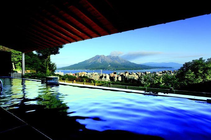 【宿】桜島一望!お肌つるつるの美人の湯「城山観光ホテル」