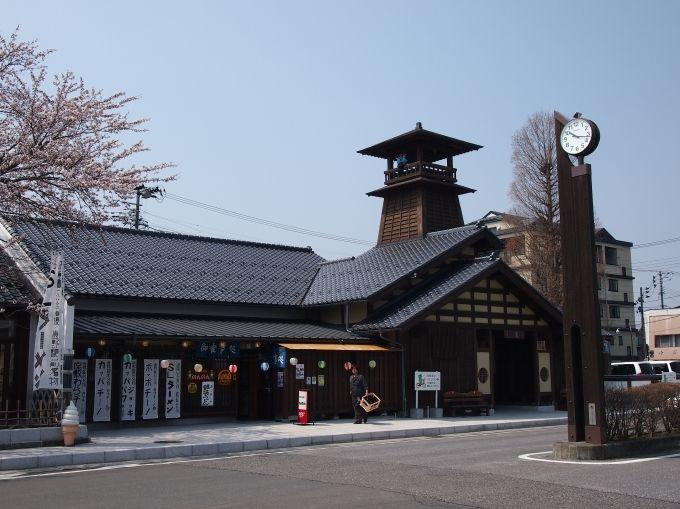 遠野土産は駅前の遠野市観光交流センター「旅の蔵遠野」で