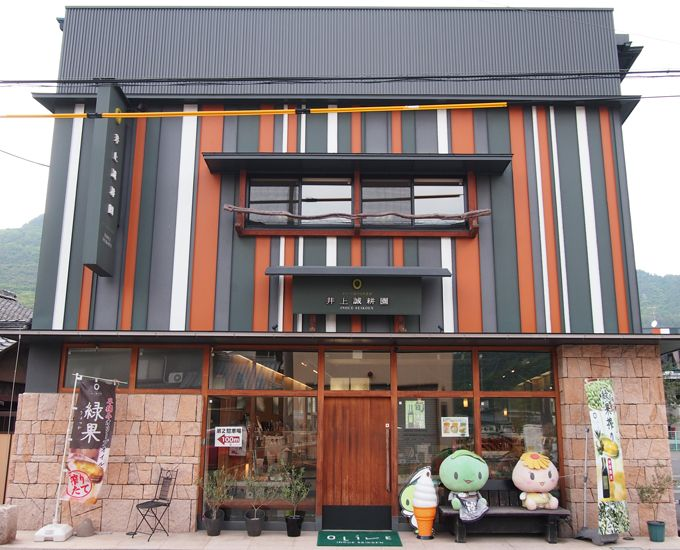 小豆島のオリーブ農園「井上誠耕園」で買い物もお食事も!