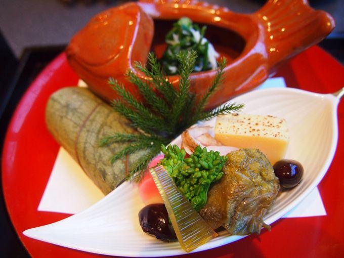 これぞユネスコ無形文化遺産、和食の神髄、季節先取り、旬を楽しむ