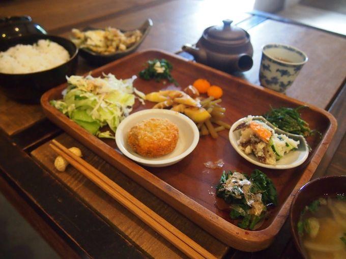 世界遺産・石見銀山のまち「野の花」の激レア昼定食とお勧め石見土産