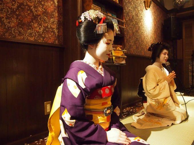 祇園喫茶Rinkenの芸舞妓パーティー&ディープな祇園東探検