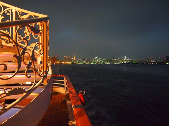 レインボーブリッジも、東京湾ゲートブリッジも、航空機も手に取るように