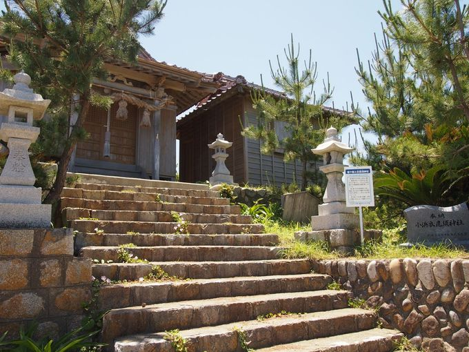 海辺の神社!満潮は波に消される神秘の白砂参道「衣毘須神社」(島根)
