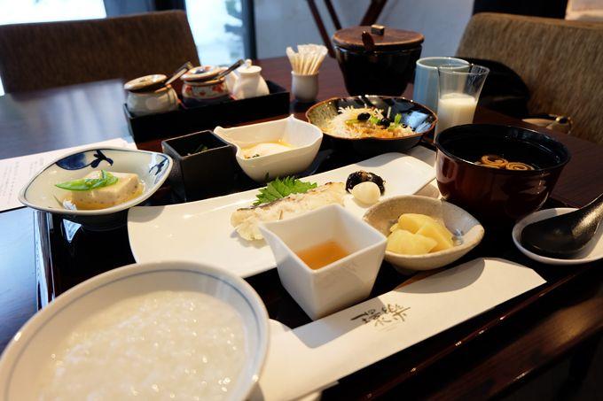 感動体験4 選べる朝食!しかも朝食をランチに変えることもできる!