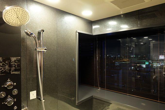 お風呂にこだわり!ビューバス付、洗い場付の客室