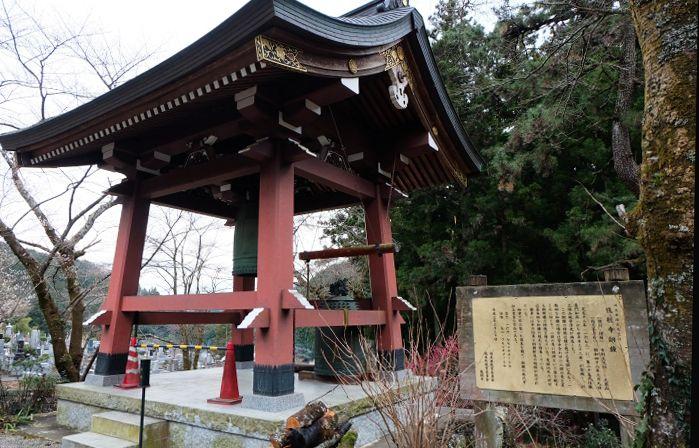 龍神伝説の寺、銅鐘は埼玉県指定の有形文化財