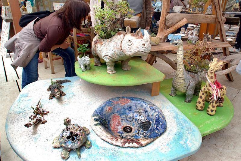 笠間を代表する祭の一つ、春の大陶器市「陶炎祭」