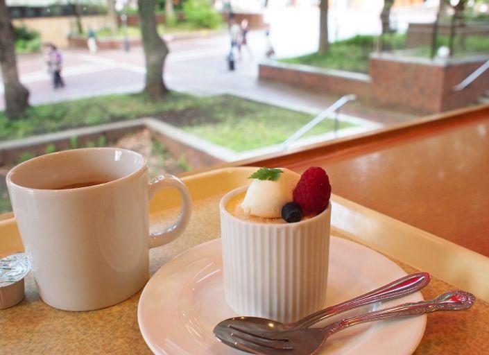 糖質70%カットの低糖質ケーキなど、スイーツメニューも充実