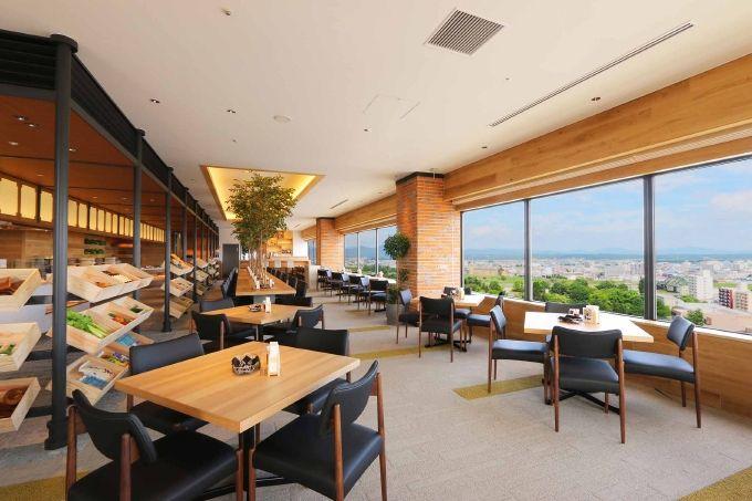 3日目:昼食「アートホテル旭川」でビュッフェ