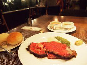 伝統のローストビーフにエアウィーブ「名古屋東急ホテル」で一流を手軽に