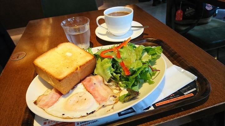 朝食は上島珈琲店で!6種のメニューから選んで