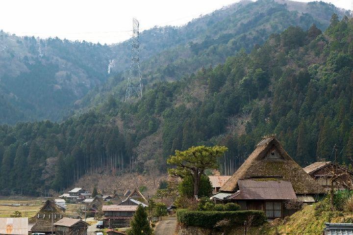 里にはパワスポも点在!中でも知井八幡神社は必見