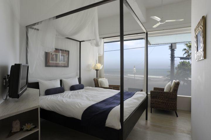 リゾート感満載!バリスタイルの優雅な客室