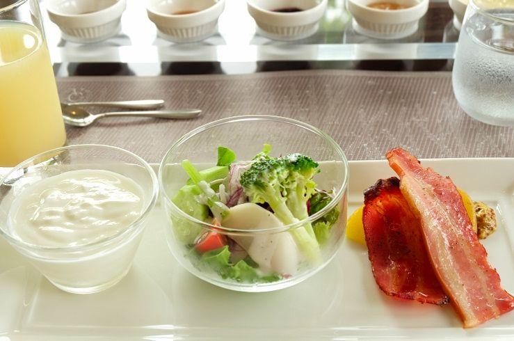 函館山を目の前に眺めながらの朝食も楽しみ!