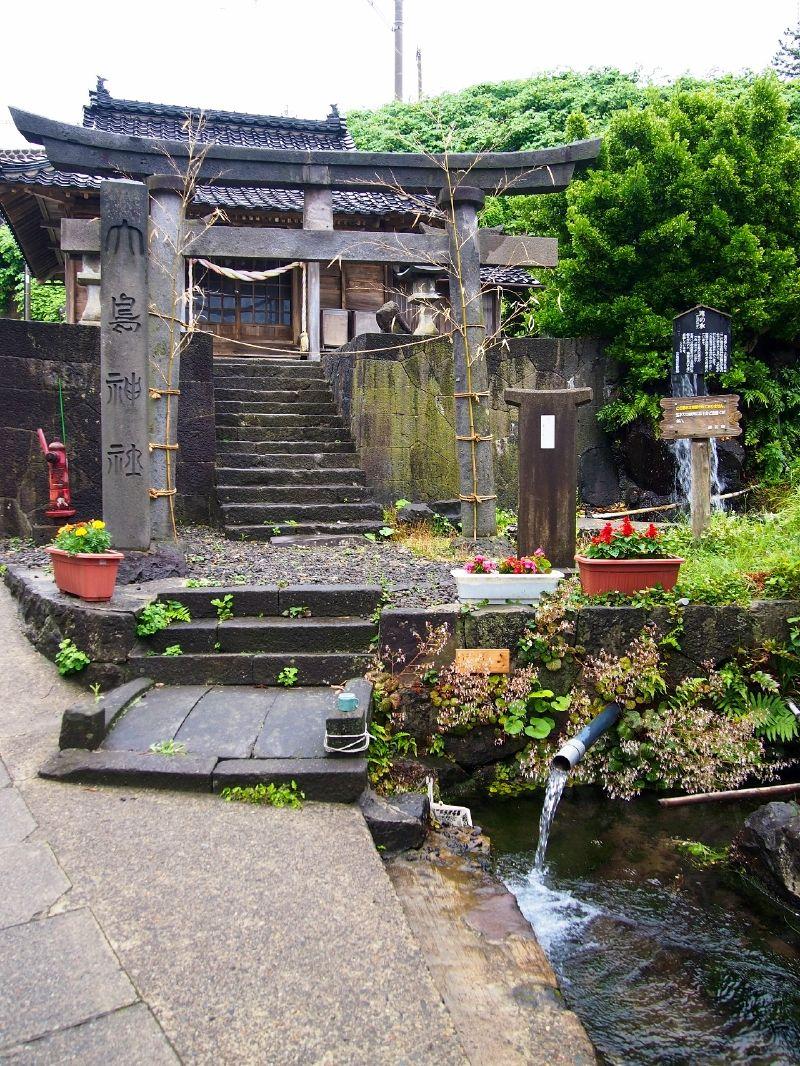 おいしい湧き水「滝の水」、美しい暮らし「神泉の水」