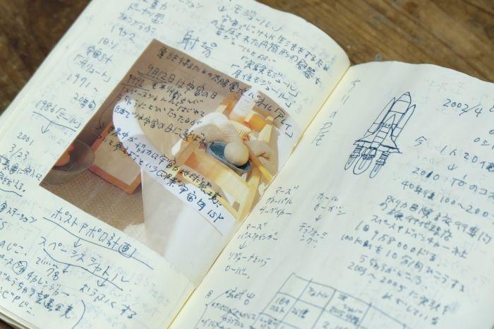 手帳類図書室で、様々な人の人生に出会う