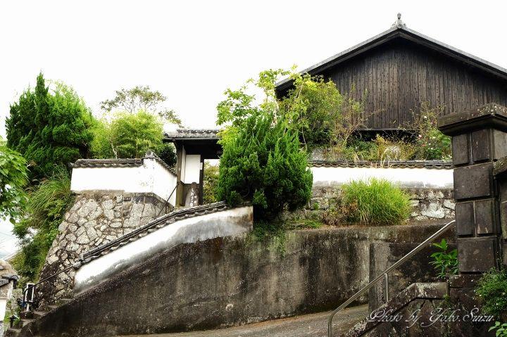 臼杵市街を一望する江戸末期の武家屋敷「万葉しおりの店」