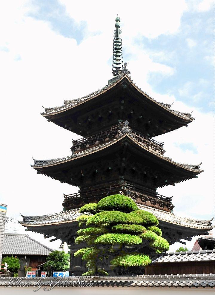 魅力2.三重塔など霊場・パワースポットも集積