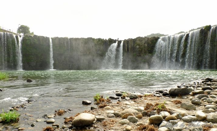 日本の滝100選!東洋のナイヤガラ「原尻の滝」