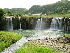 大分・豊後大野に幅百メートル越の2大瀑布!原尻の滝&沈堕の滝