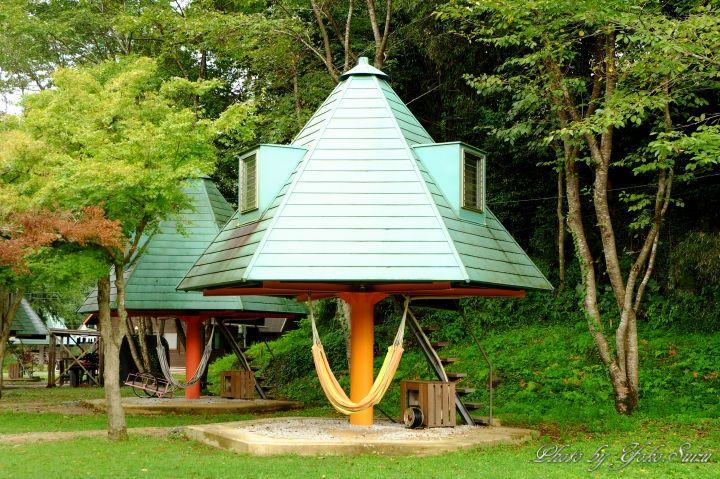 自然と一体となる豊後大野の宿!里の旅リゾート ロッジきよかわ