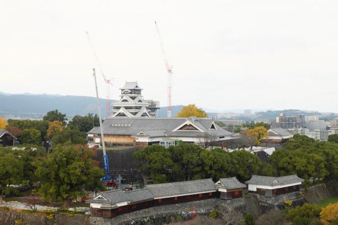 市内に点在する熊本城ビュースポット!