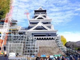 今しか見られない!日々復旧を遂げる貴重な姿「熊本城」特別公開