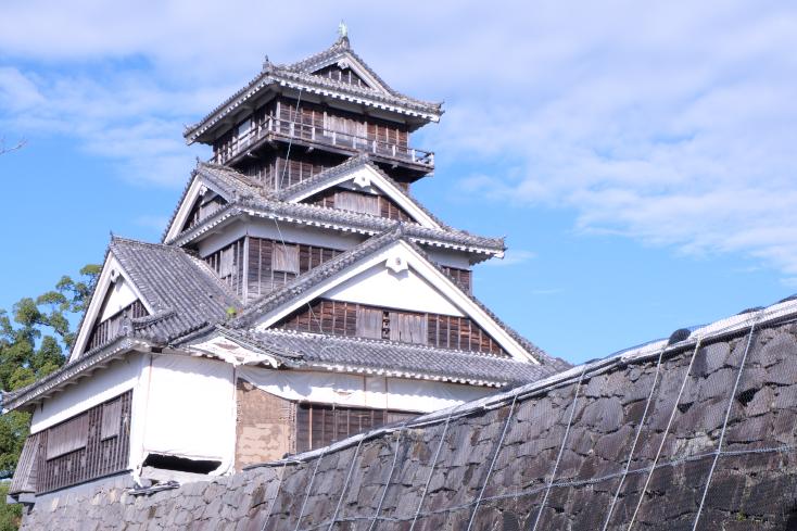 今しか見られない、復旧を遂げる熊本城の勇姿