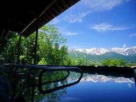 眼前に白馬連峰の絶景!白馬姫川温泉「白馬ハイランドホテル」