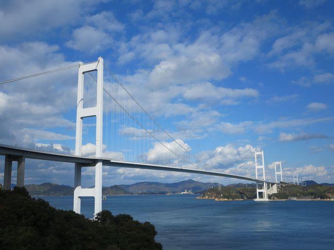 「来島海峡大橋」を自転車で渡ってみよう
