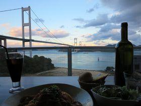 サイクリストの聖地「しまなみ海道」を走る。ご褒美は絶景レストラン!